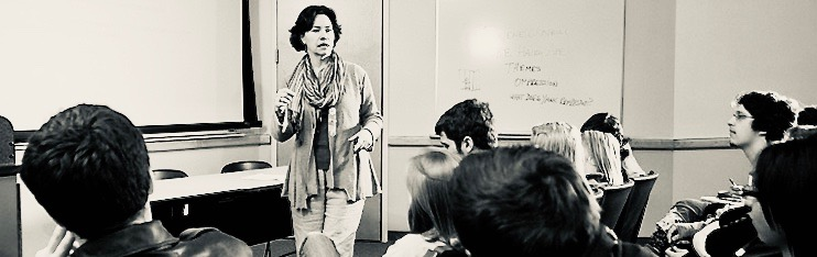 Instructor Lecturing Students in a Classroom
