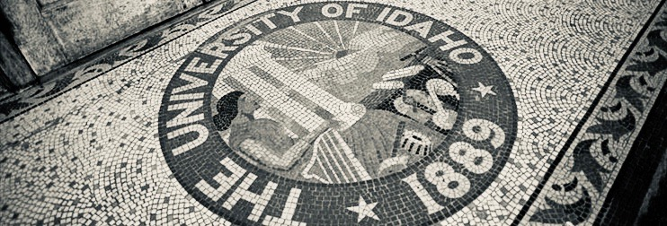 Idaho Seal in Mosaic Tiles
