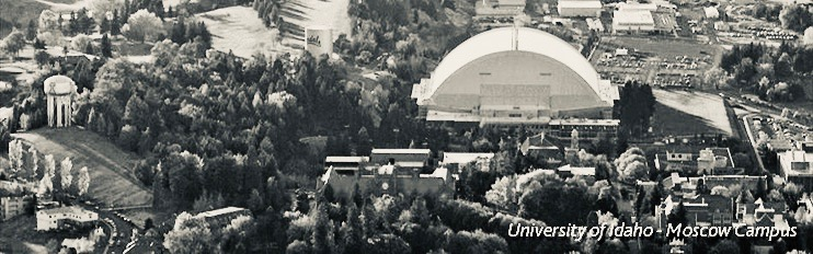 Kibbie Dome on U-Idaho Campus