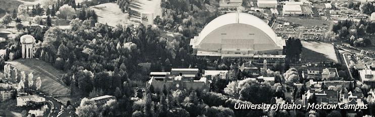 Kibbie Dome on U-Idaho Campus
